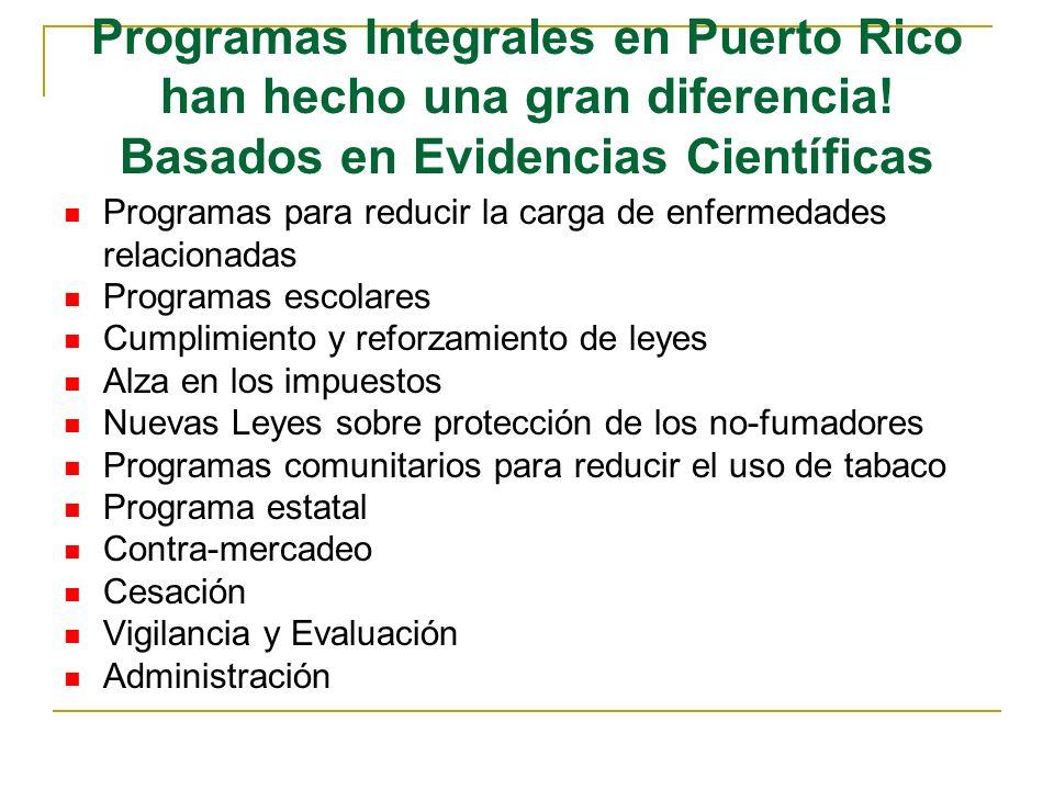Programas Integrales en Puerto Rico han hecho una gran diferencia