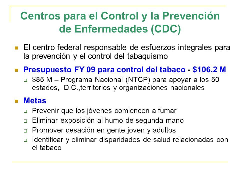 Centros para el Control y la Prevención de Enfermedades (CDC)