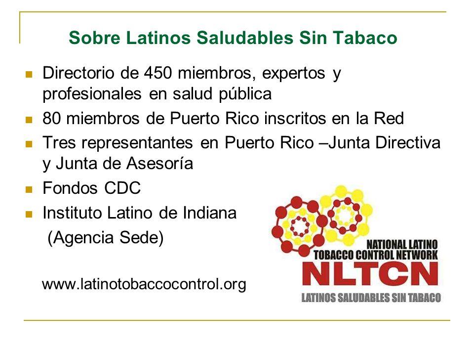 Sobre Latinos Saludables Sin Tabaco