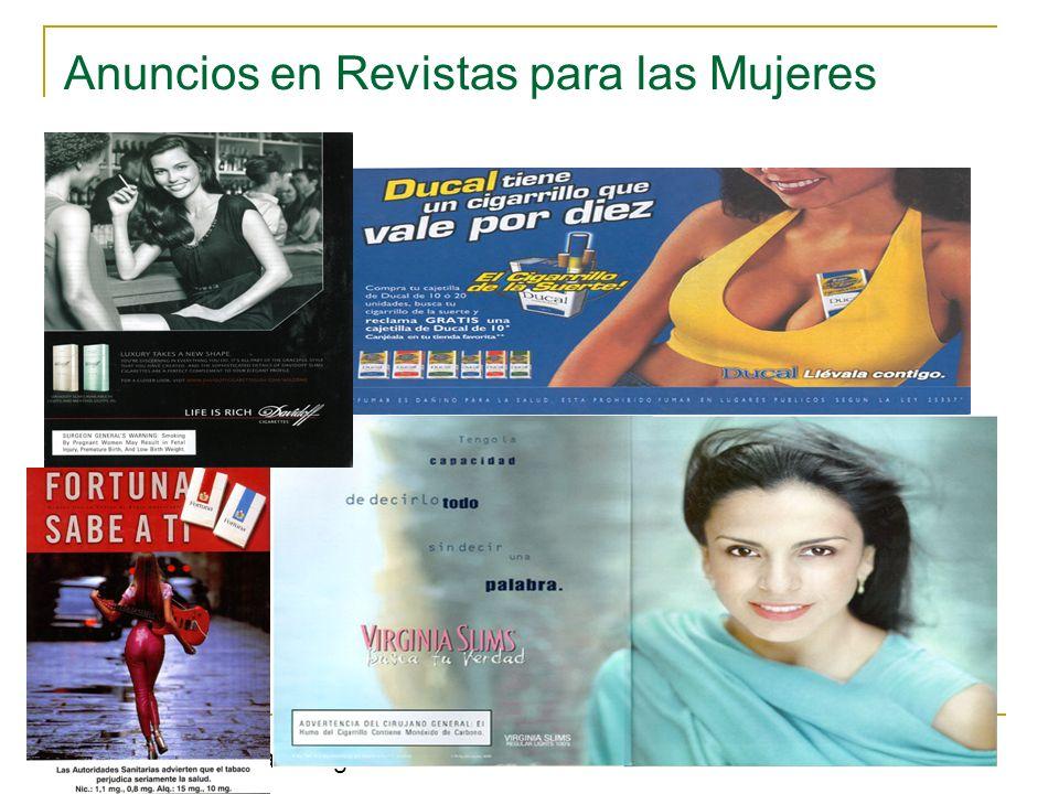 Anuncios en Revistas para las Mujeres