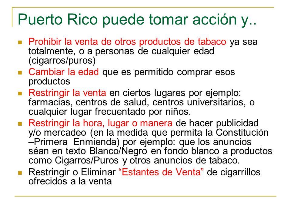 Puerto Rico puede tomar acción y..