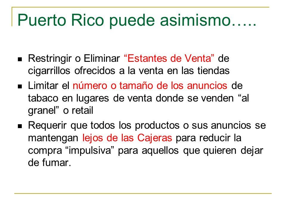 Puerto Rico puede asimismo…..