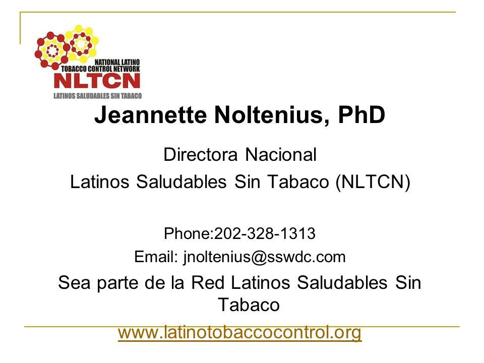 Jeannette Noltenius, PhD