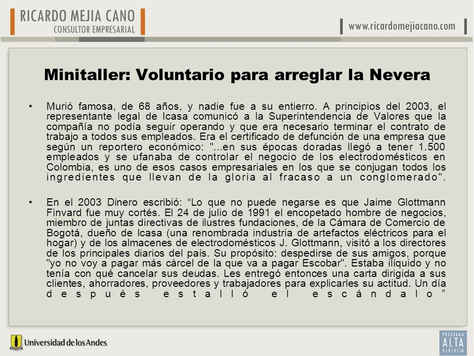 Minitaller: Voluntario para arreglar la Nevera