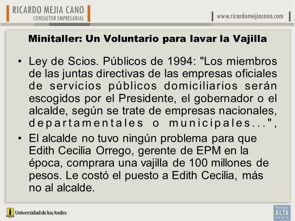 El gobierno corporativo ppt descargar for Vajillas que no se rompen