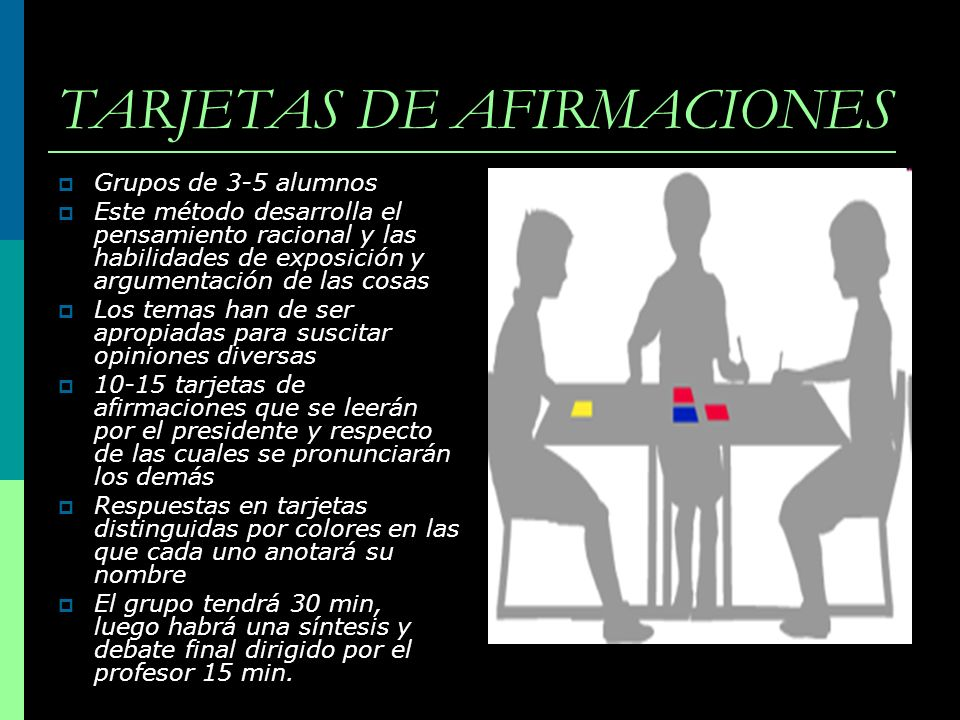 TARJETAS DE AFIRMACIONES