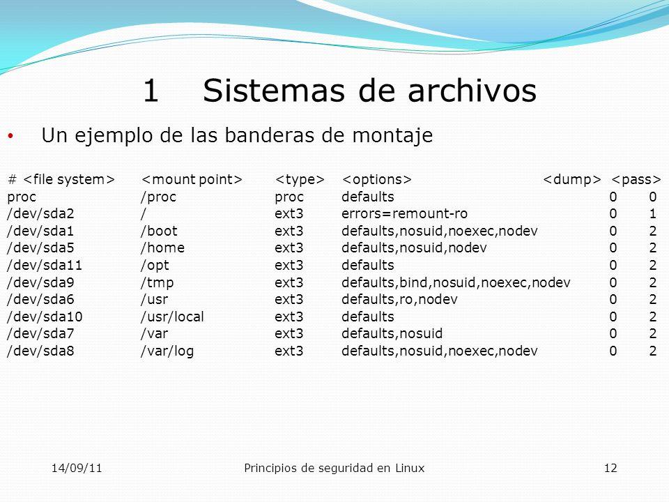 Principios de seguridad en Linux