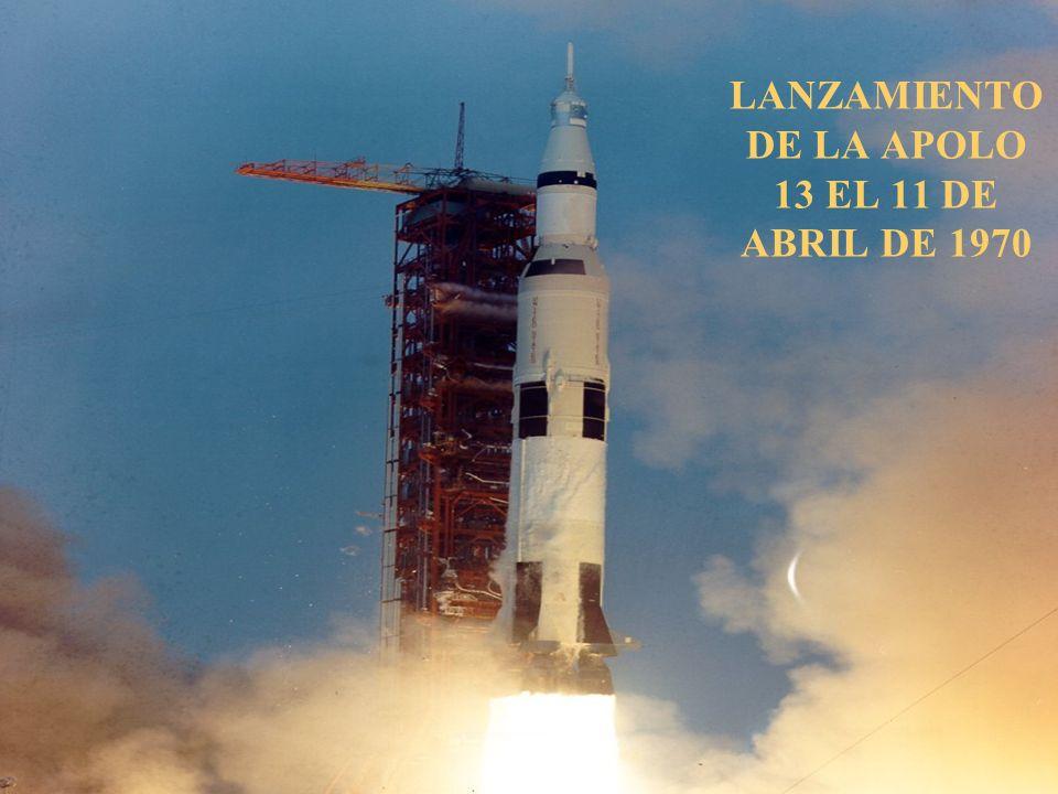 LANZAMIENTO DE LA APOLO 13 EL 11 DE ABRIL DE 1970