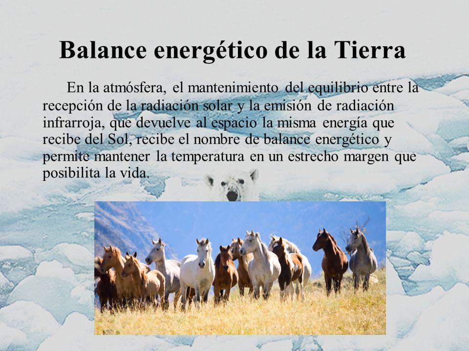 Balance energético de la Tierra