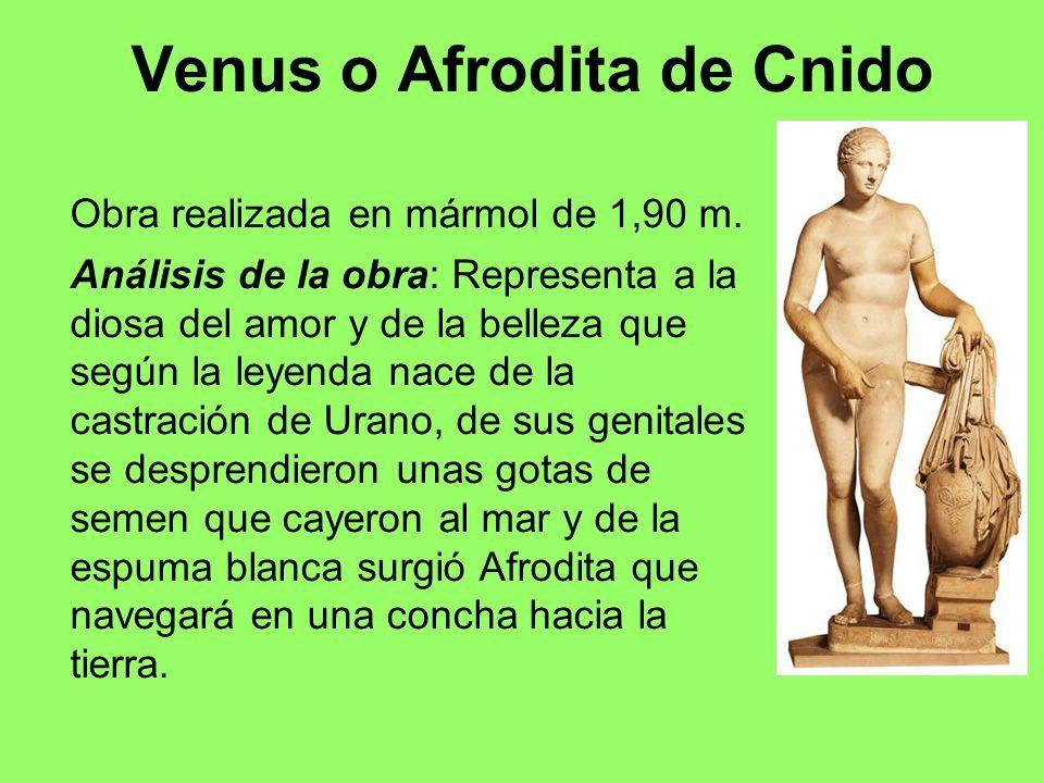 Venus o Afrodita de Cnido