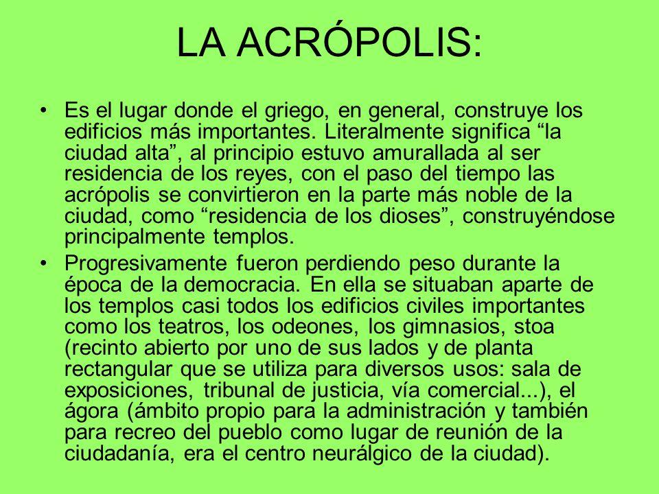 LA ACRÓPOLIS: