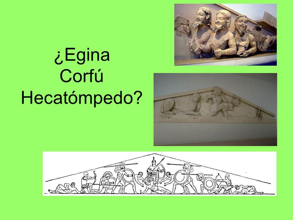 ¿Egina Corfú Hecatómpedo