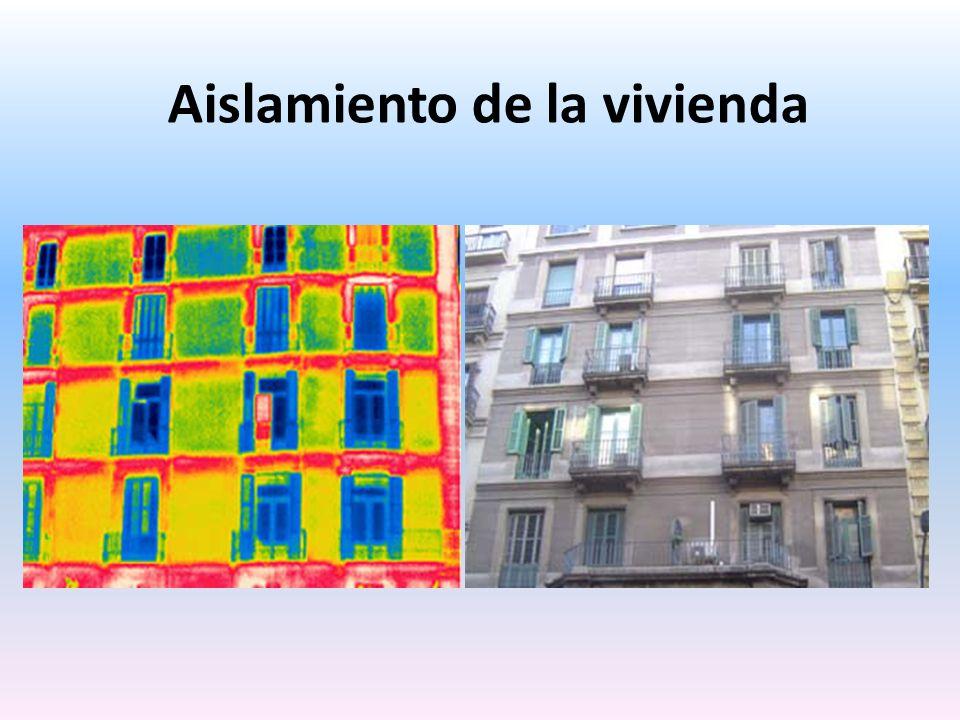Aislamiento de la vivienda