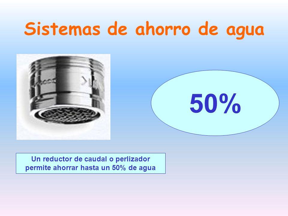 Sistemas de ahorro de agua