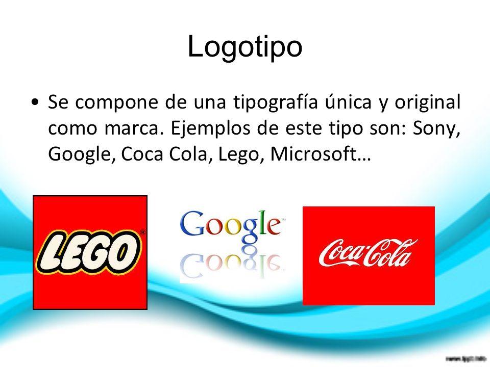 Logotipo Se compone de una tipografía única y original como marca.