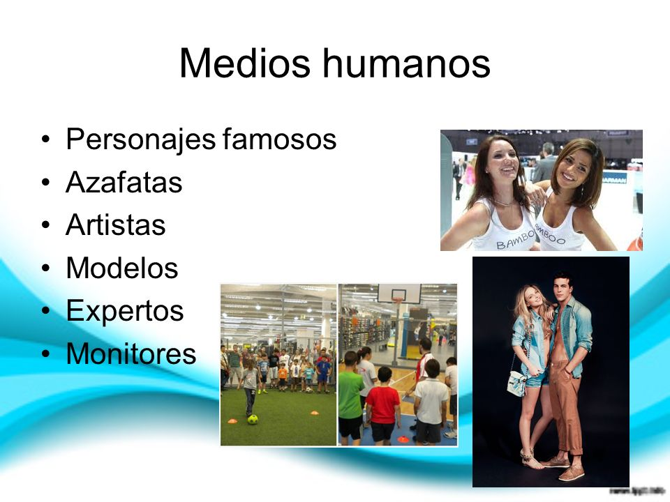 Medios humanos Personajes famosos Azafatas Artistas Modelos Expertos