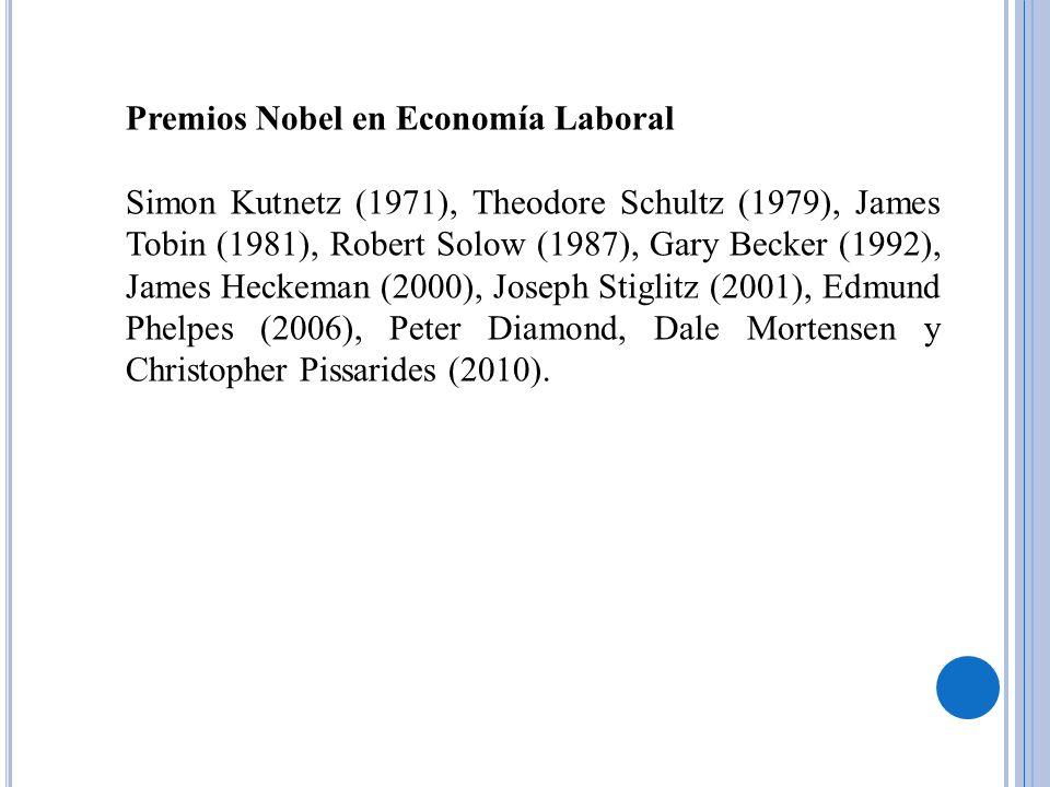 Premios Nobel en Economía Laboral