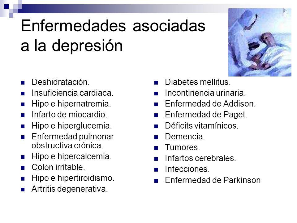 Enfermedades asociadas a la depresión