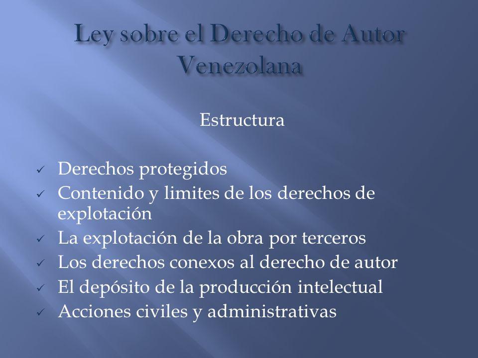 Ley sobre el Derecho de Autor Venezolana
