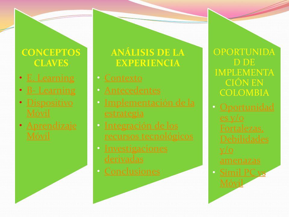 ANÁLISIS DE LA EXPERIENCIA