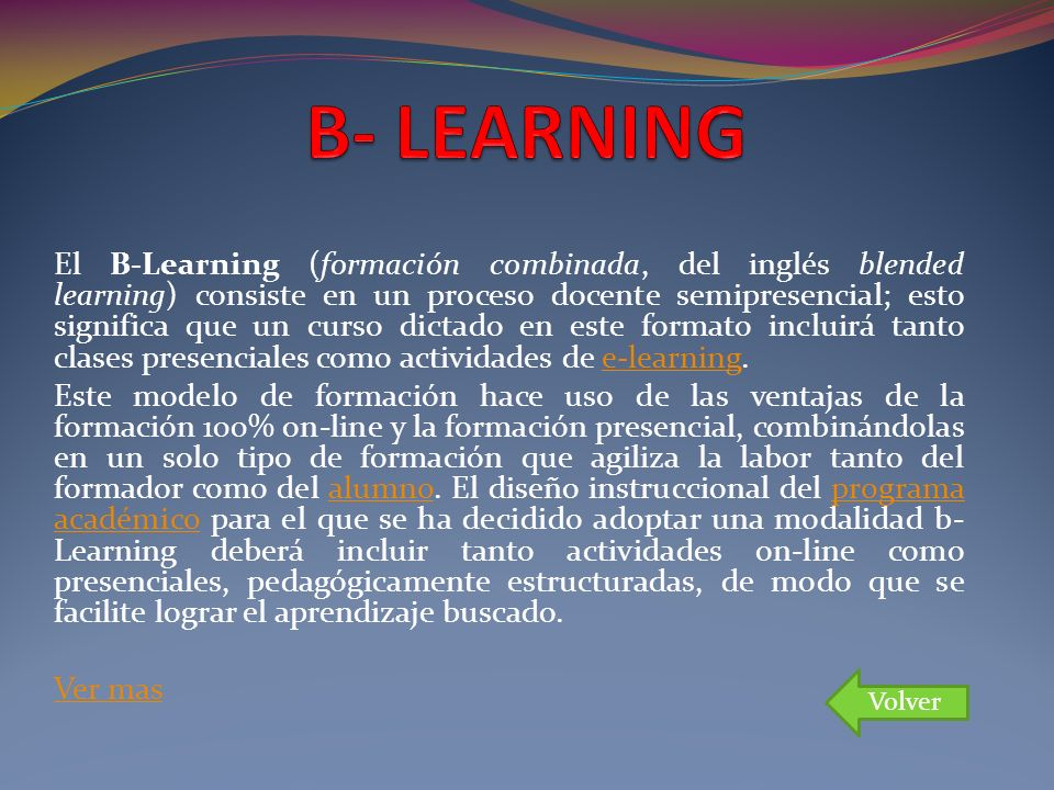 B- LEARNING