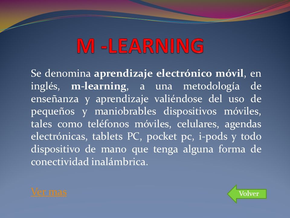 M -LEARNING