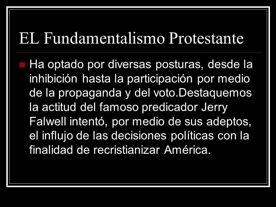 EL Fundamentalismo Protestante