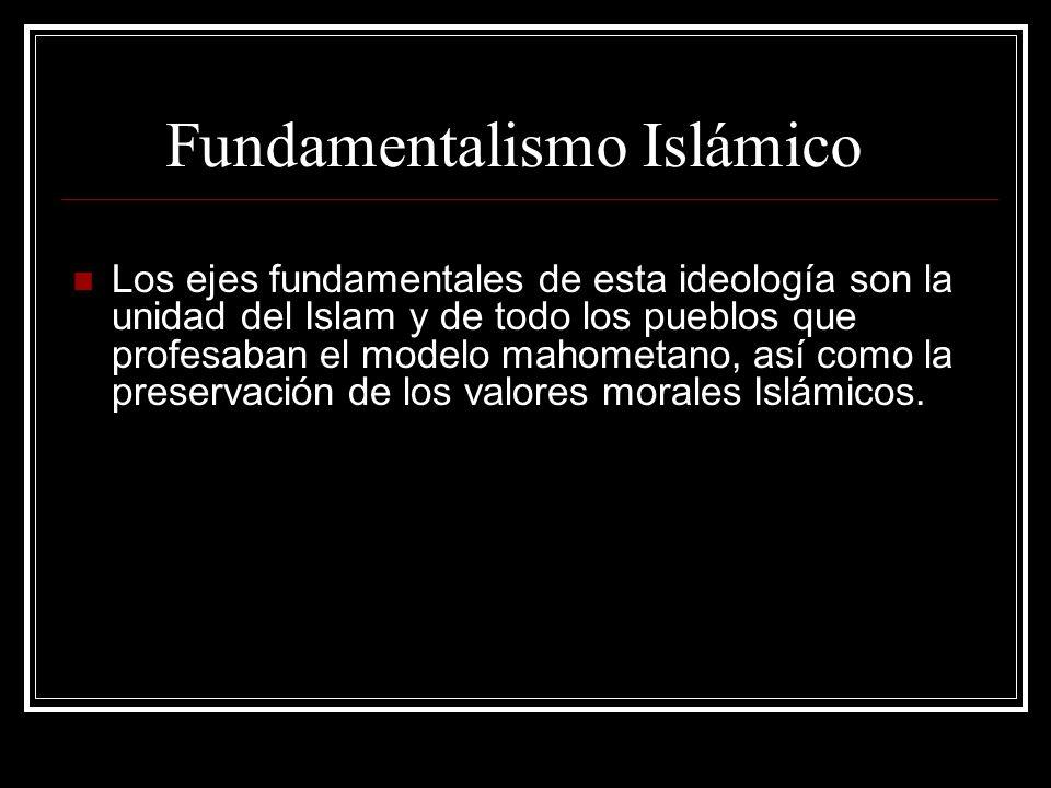 Fundamentalismo Islámico
