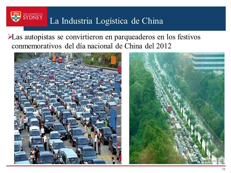 La Industria Logística de China