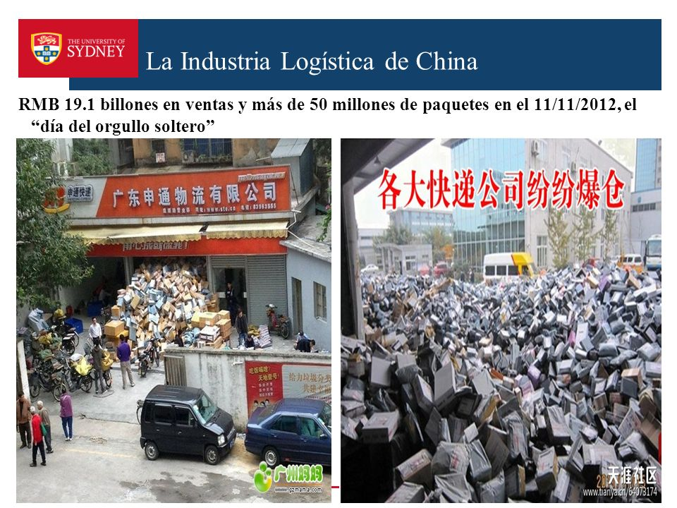 La Industria Logística de China