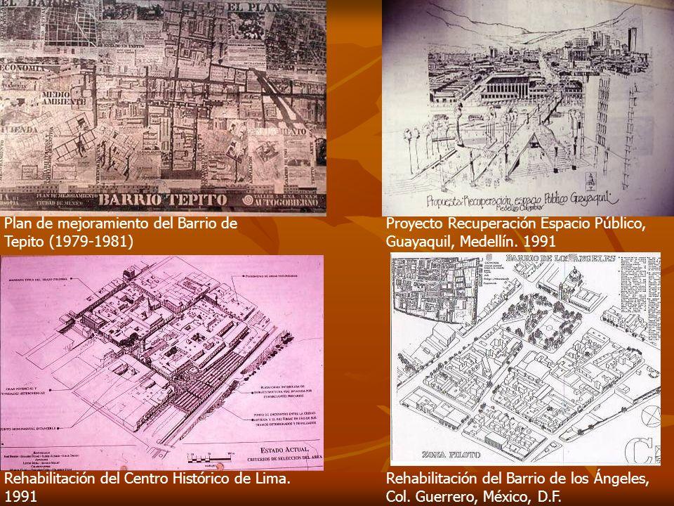 Plan de mejoramiento del Barrio de Tepito (1979-1981)