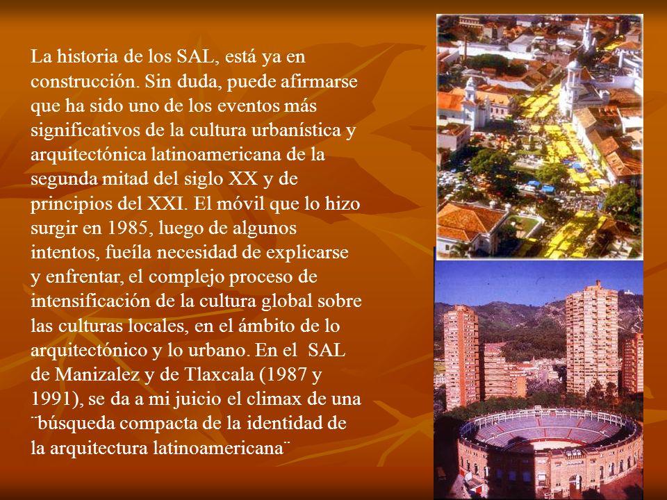 La historia de los SAL, está ya en construcción