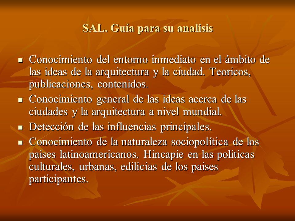 SAL. Guía para su analisis