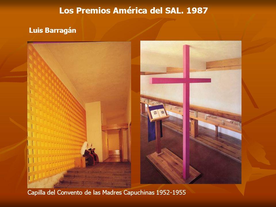 Los Premios América del SAL. 1987