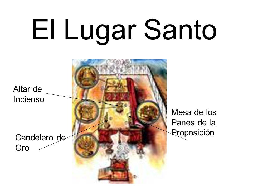 El Lugar Santo Altar de Incienso Mesa de los Panes de la Proposición