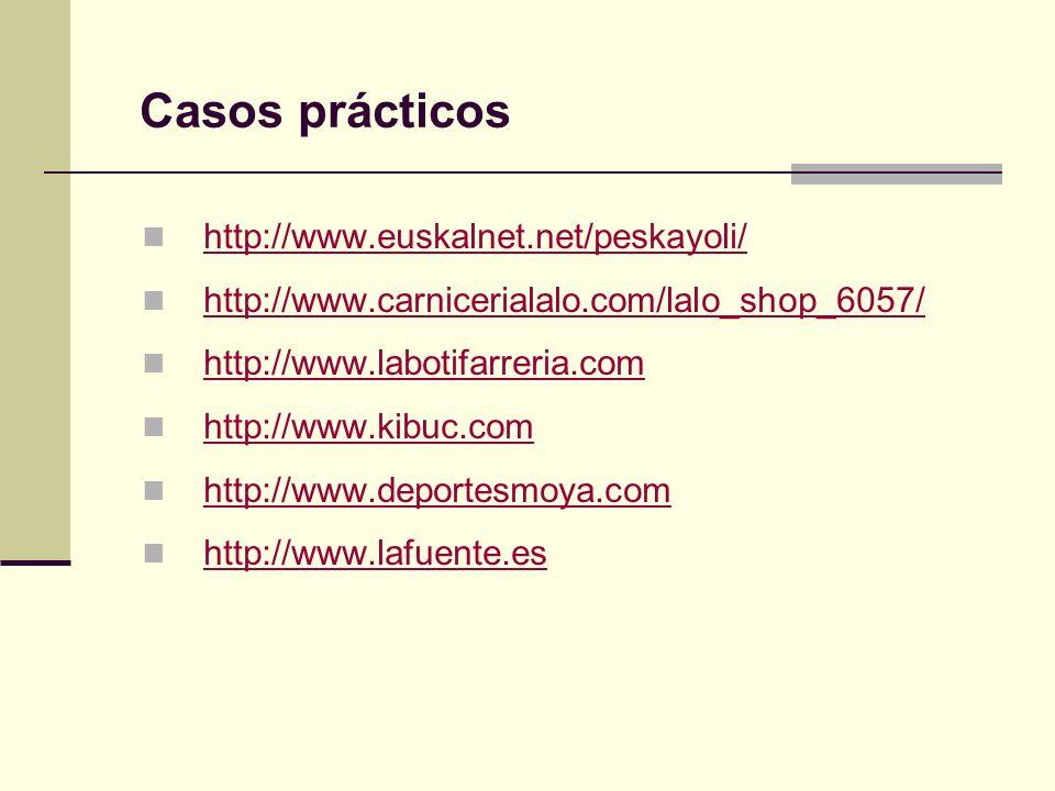 Casos prácticos http://www.euskalnet.net/peskayoli/