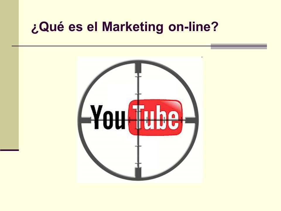 ¿Qué es el Marketing on-line