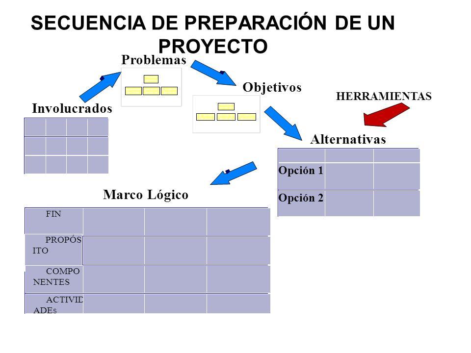 SECUENCIA DE PREPARACIÓN DE UN PROYECTO