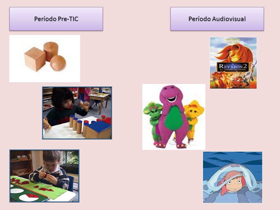 Período Pre-TIC Período Audiovisual