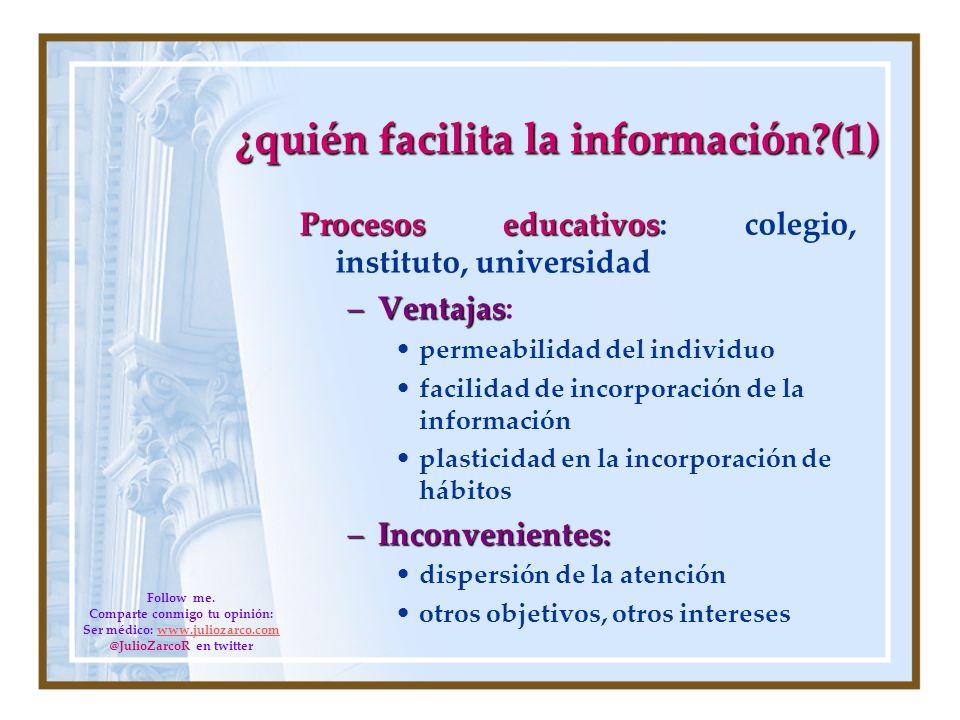 ¿quién facilita la información (1)
