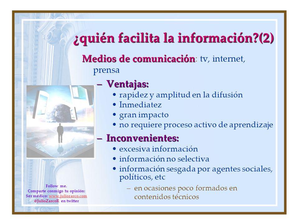¿quién facilita la información (2)