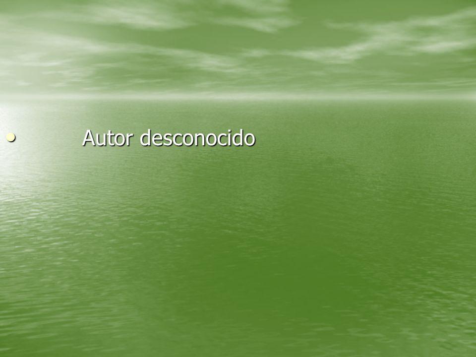 Autor desconocido