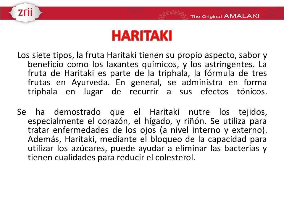 HARITAKI