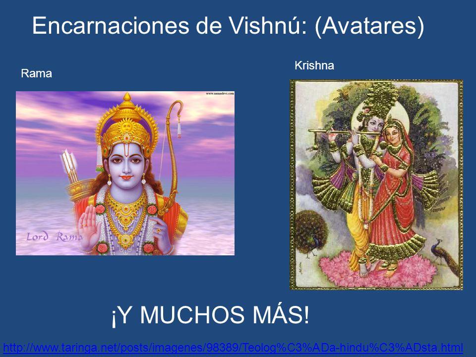 Encarnaciones de Vishnú: (Avatares)