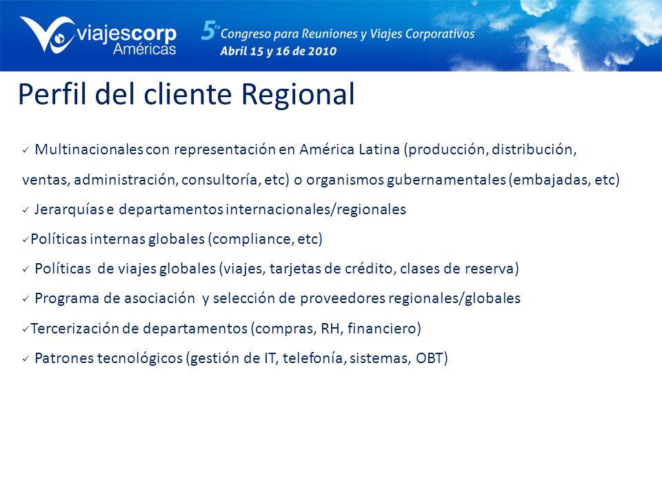 Perfil del cliente Regional