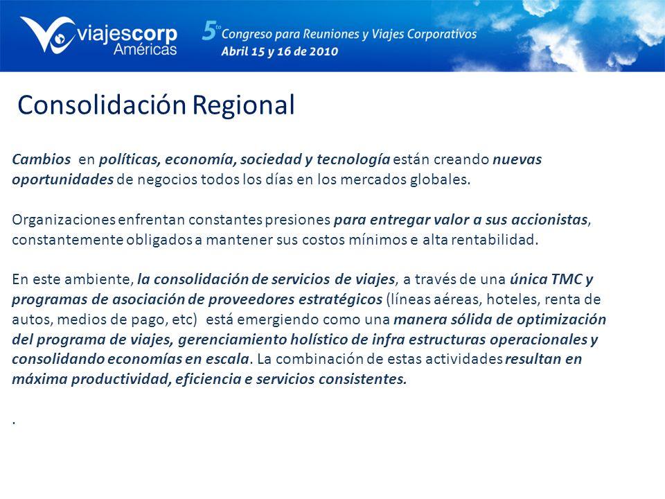 Consolidación Regional