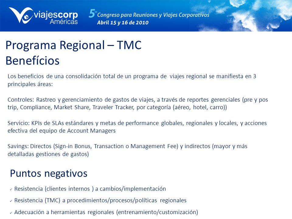 Programa Regional – TMC Benefícios