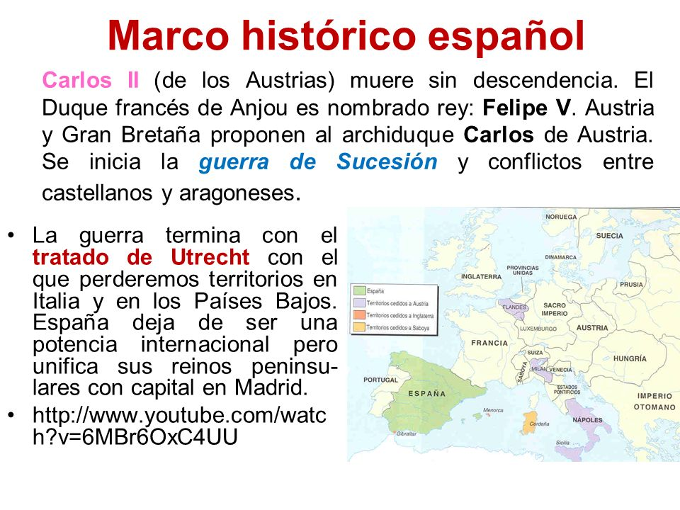 Marco histórico español