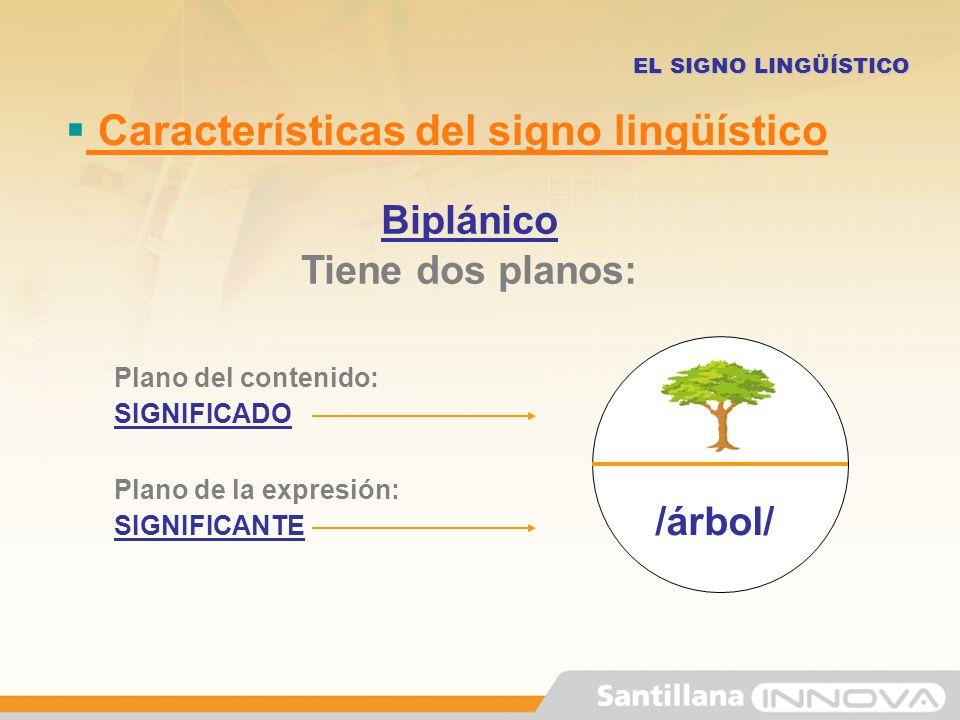 El signo ling stico ppt video online descargar for Las caracteristicas de los arboles