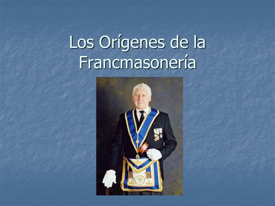 Los Orígenes de la Francmasonería